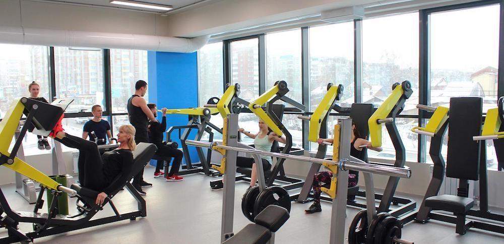 инвентарь для фитнеса
